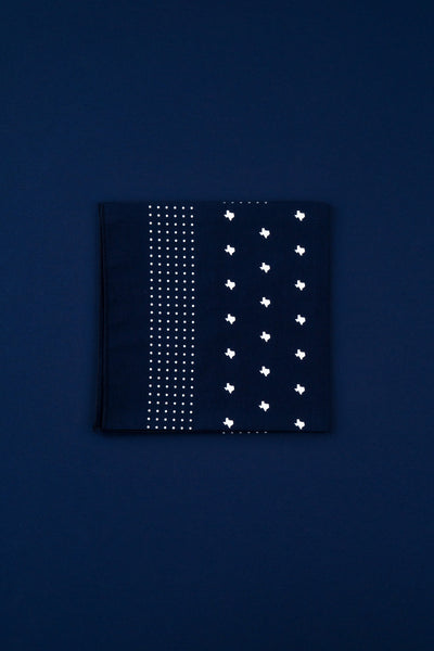 texas bandana (navy)