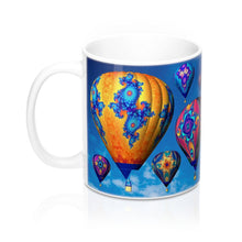 Load image into Gallery viewer, Mug: Fractal Balloons 11oz