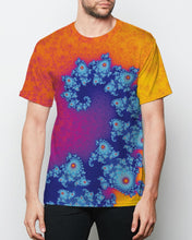 Load image into Gallery viewer, Fibonacci Fractal Tee Men's Short Sleeve