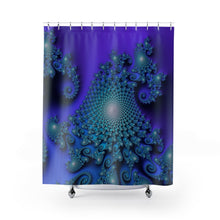 Load image into Gallery viewer, Shower Curtain: Seahorse Valley