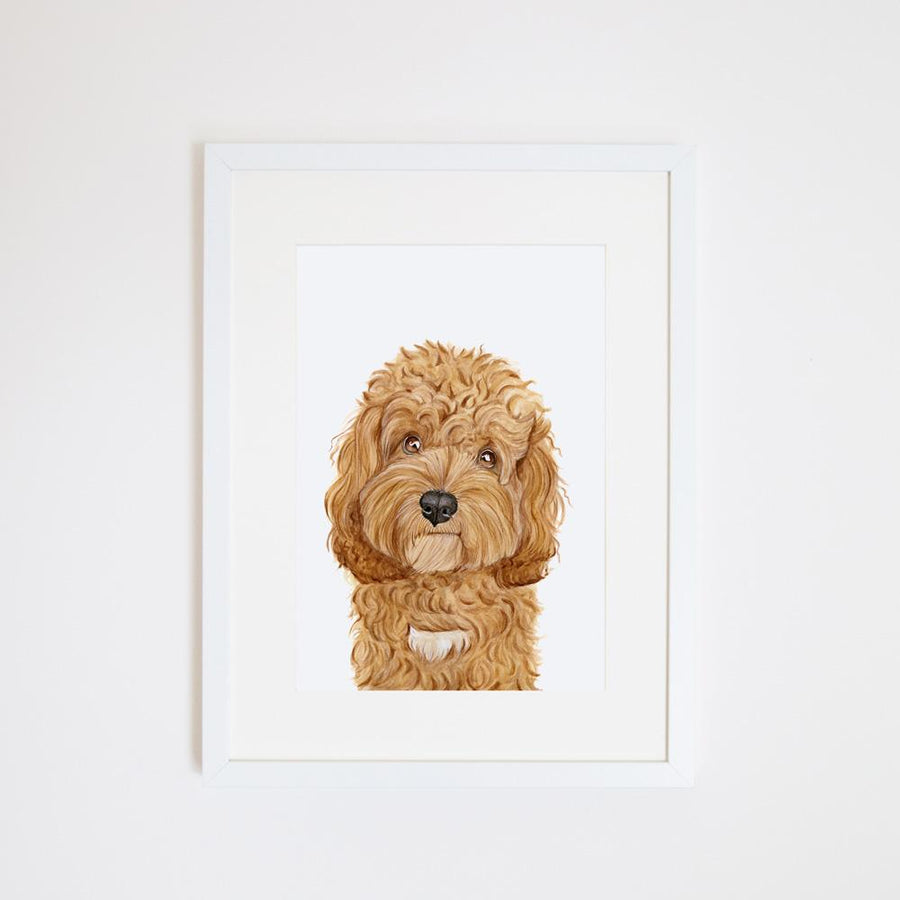 Carrie the Cavoodle Print