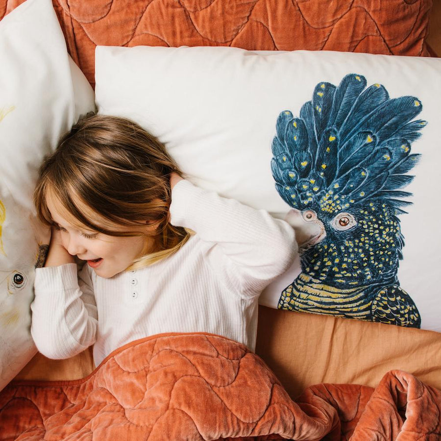 Connie the Cockatoo Pillowcase