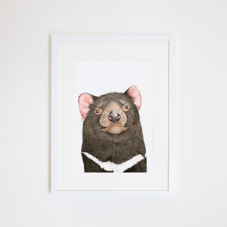 Desmond the Tasmanian Devil Print