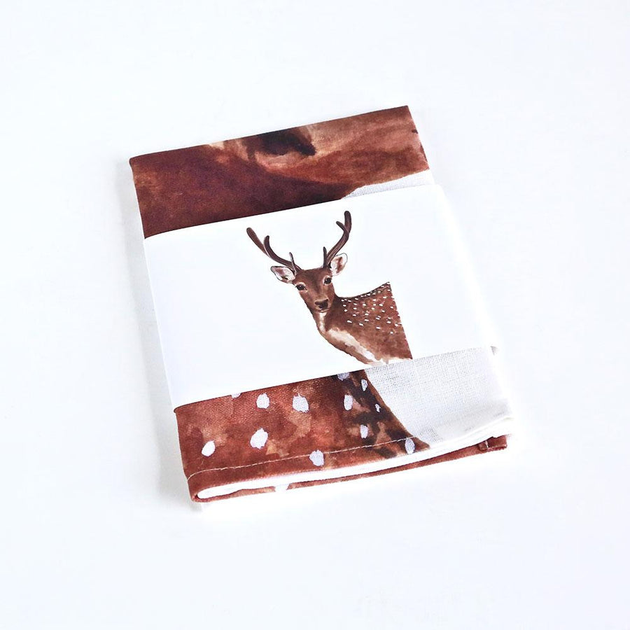 Dotty the Deer Tea Towel
