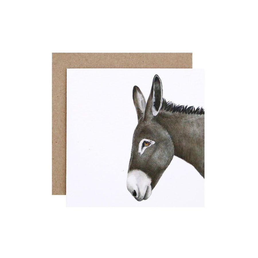 Doug the Donkey Greeting Card