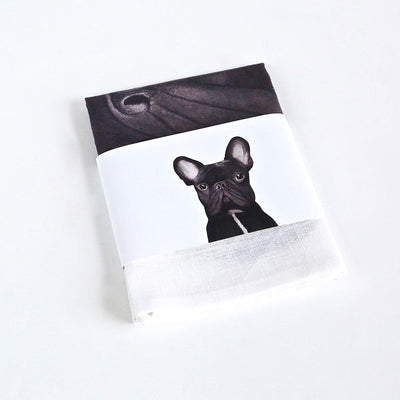 Gilbert the French Bulldog Tea Towel