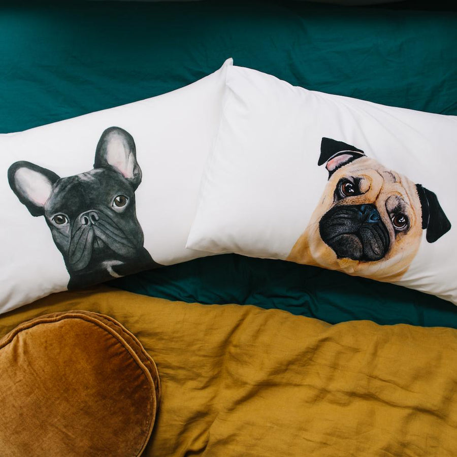 Gilbert the French Bulldog Pillowcase