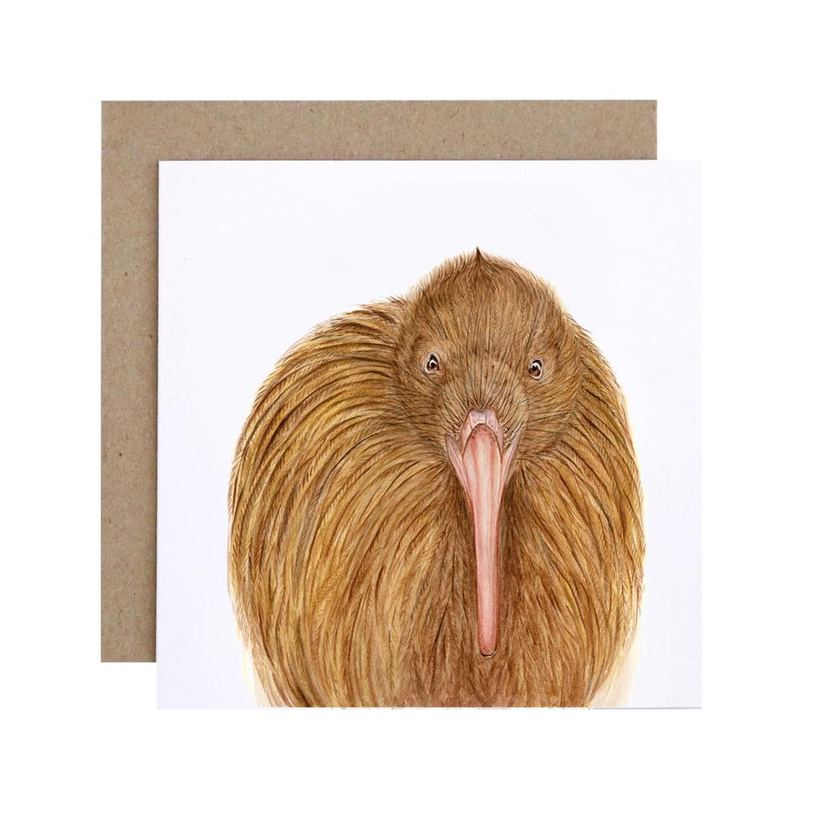 Kiki the Kiwi Greeting Card