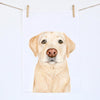 Ollie the Labrador Tea Towel