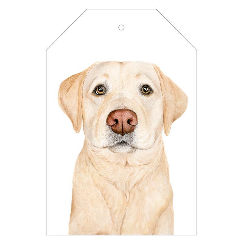 Ollie the Labrador Gift Tags