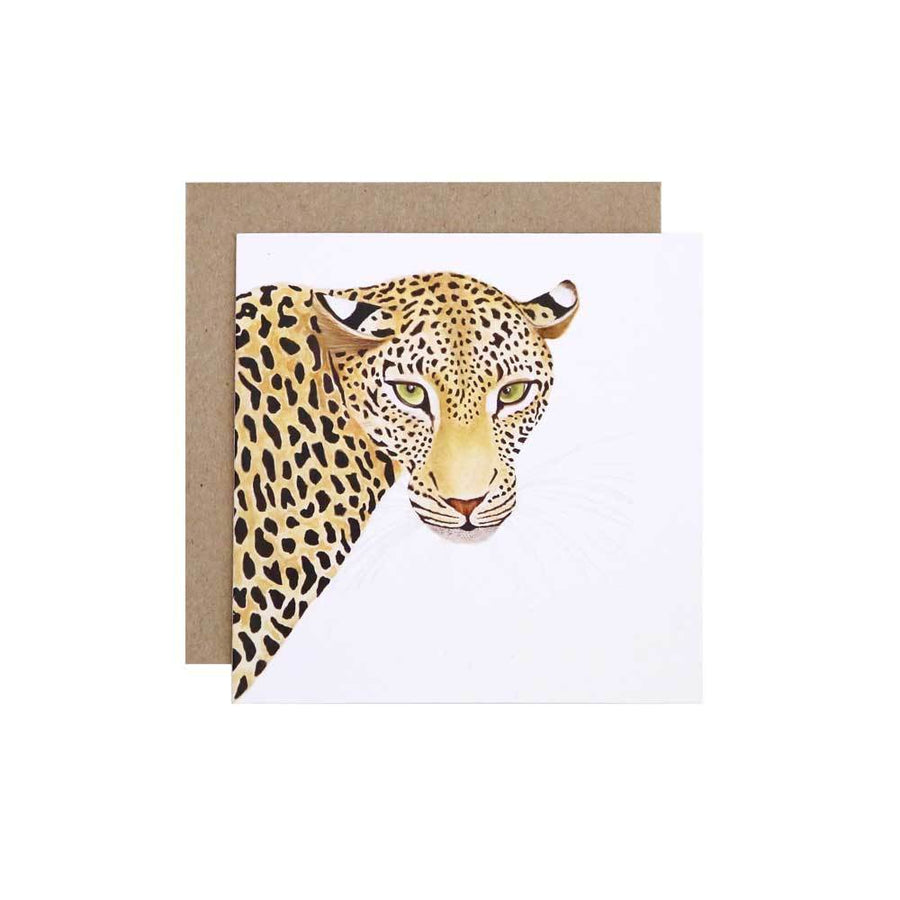 Alison the Leopard Greeting Card