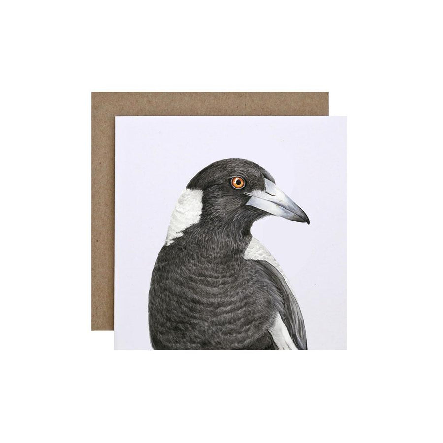 Maggie the Magpie Greeting Card