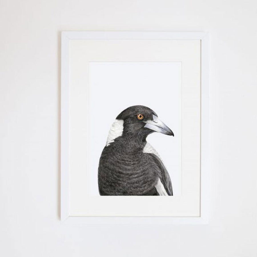 Maggie the Magpie Print
