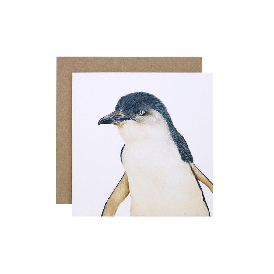 Peggy the Penguin Greeting Card