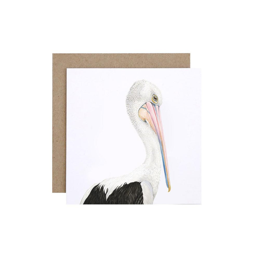 Pippa the Pelican Greeting Card