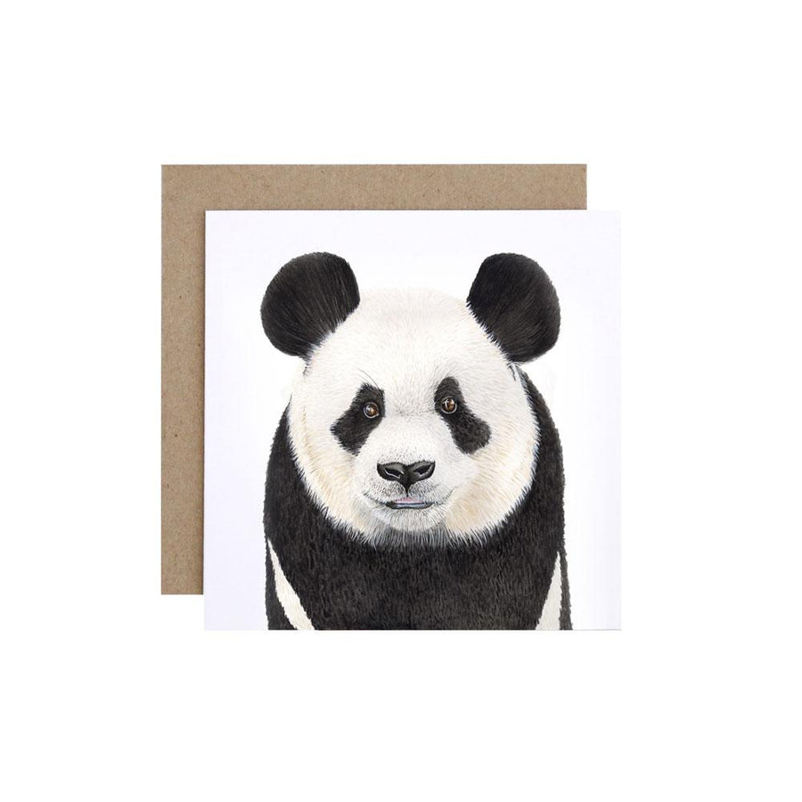 Pongo the Panda Greeting Card