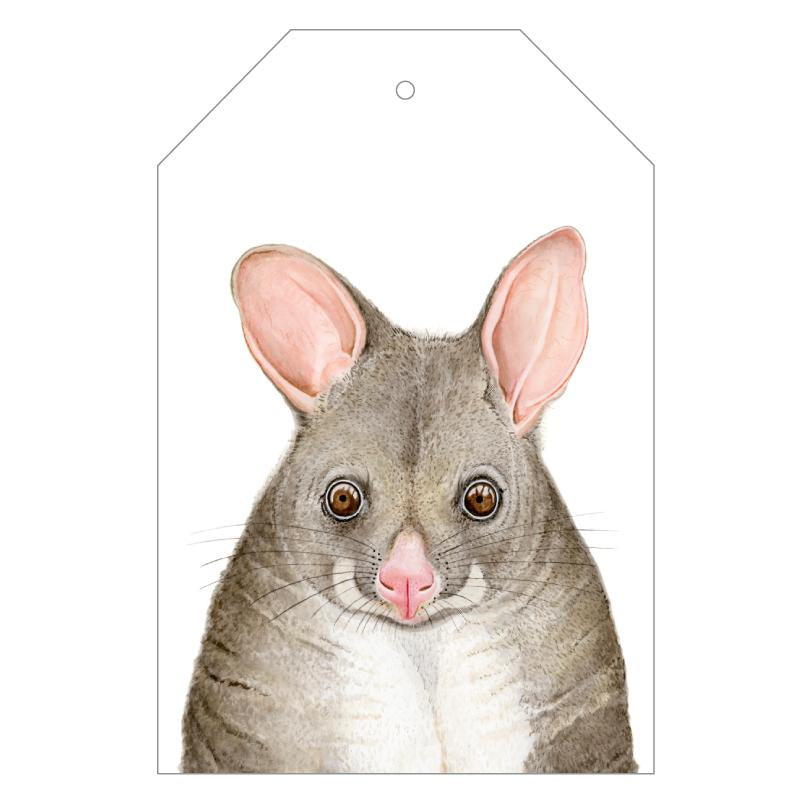 Pat the Possum Gift Tags