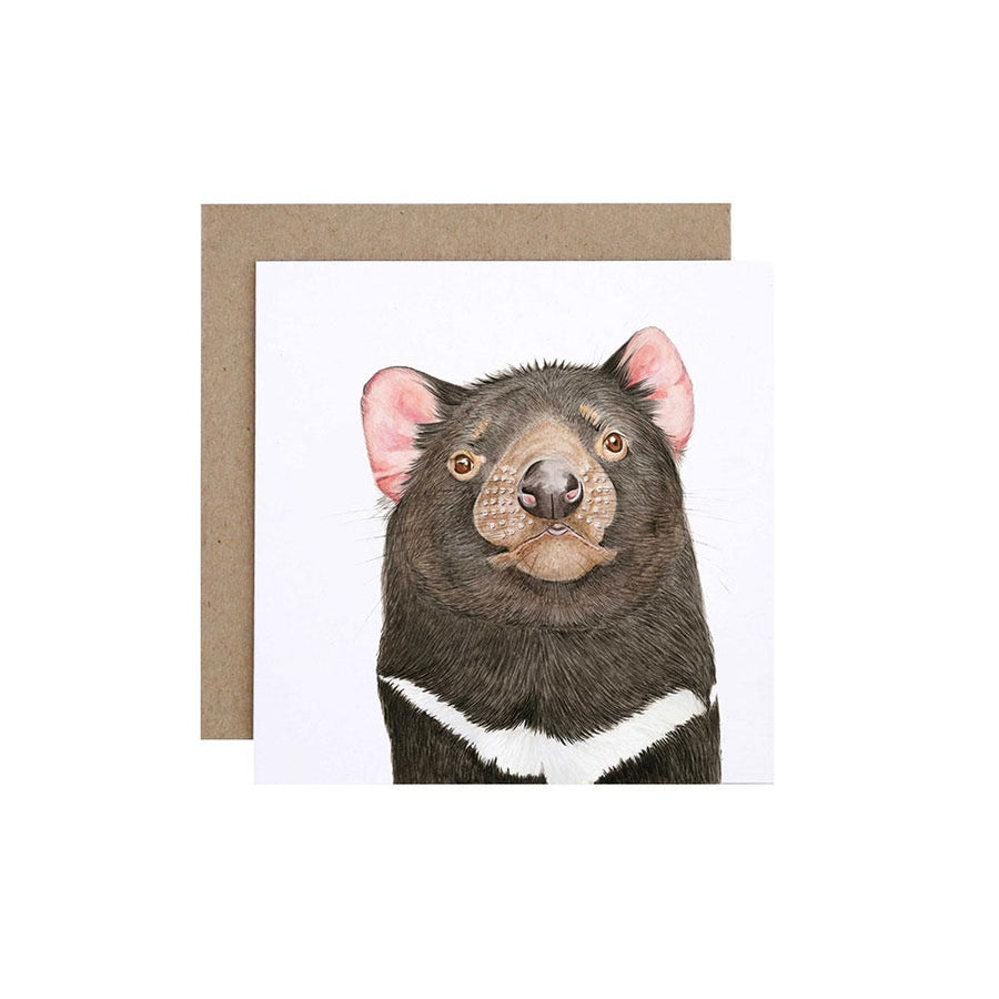 Desmond the Tasmanian Devil Greeting Card