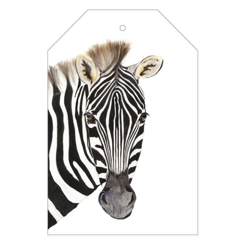Zoe the Zebra Gift Tags