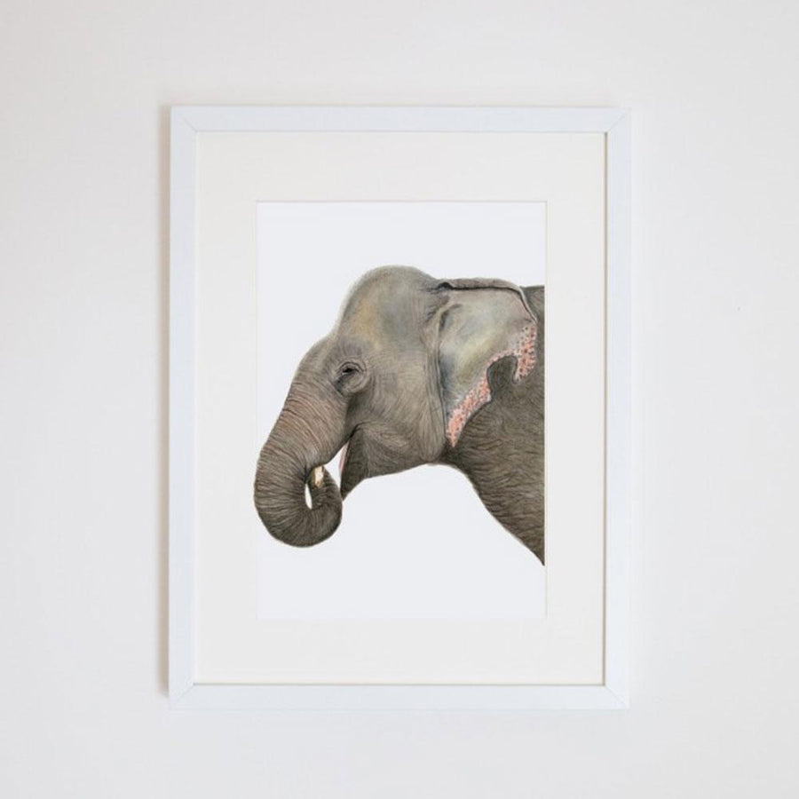 Elliot the Elephant Print