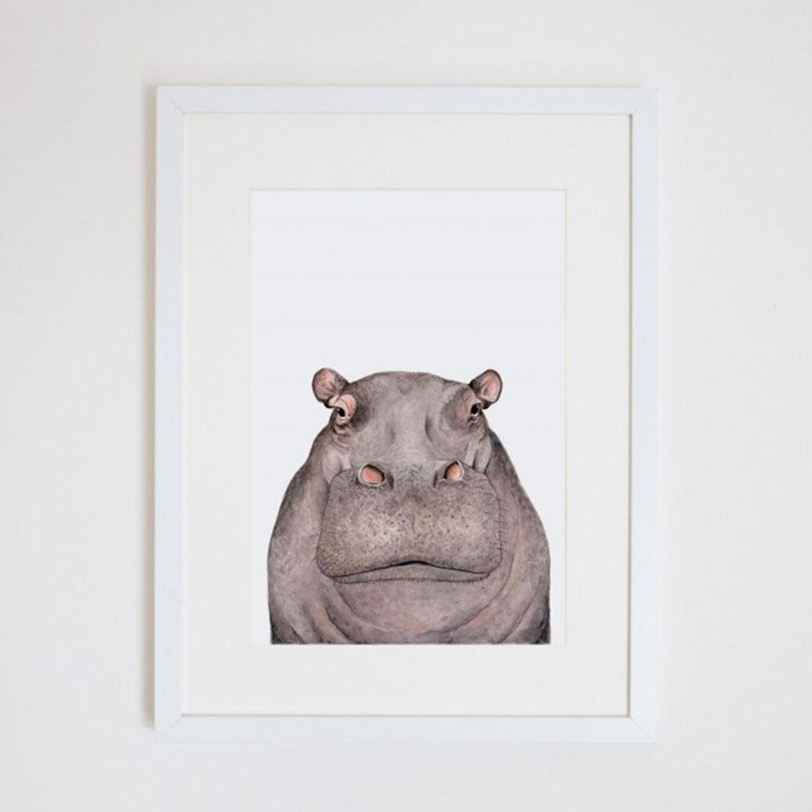 Hugo the Hippo Print