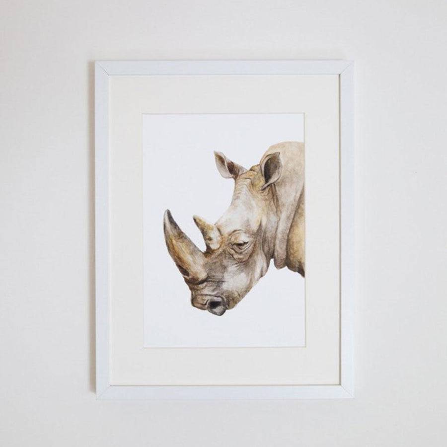 Reg the Rhino Print
