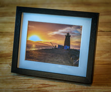Load image into Gallery viewer, Sunrise over the Poolbeg Lighthouse, Dublin, Ireland