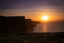 "Load image into Gallery viewer, Aluminum Print ""Cliffs of Moher"""