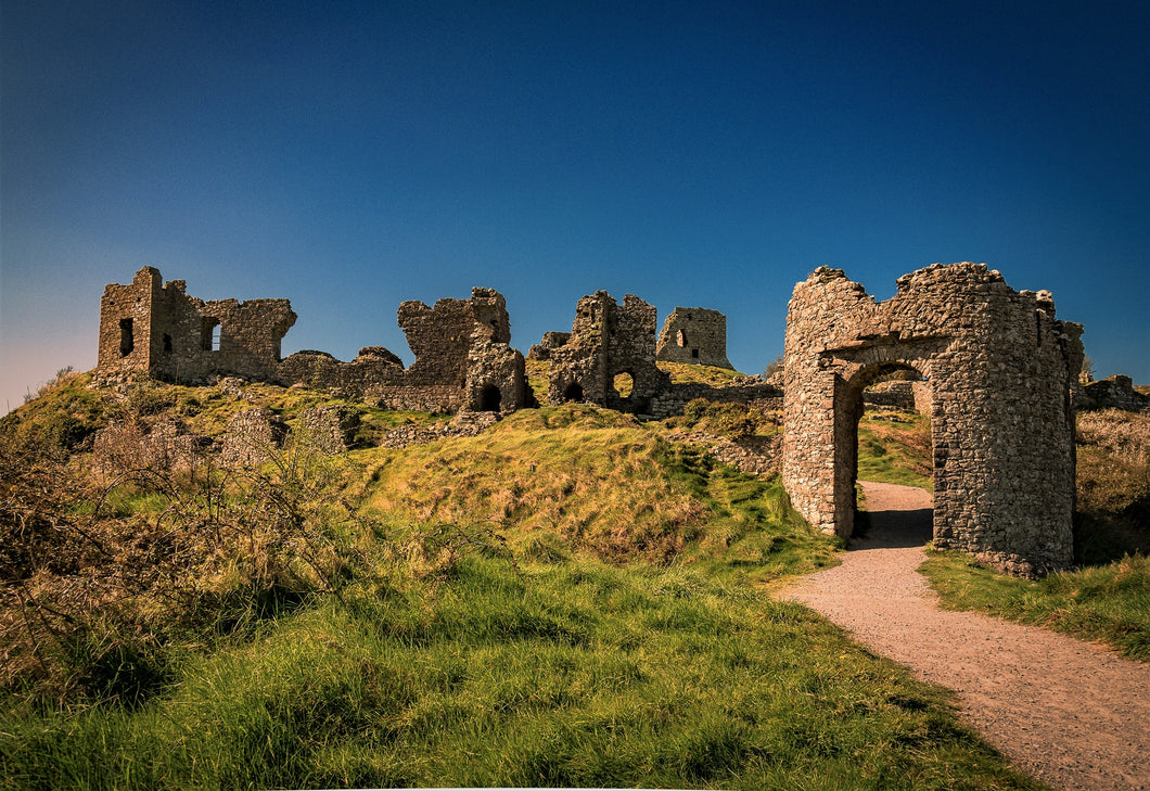 Postcard Rock of Dunamase, Co. Laois, Ireland