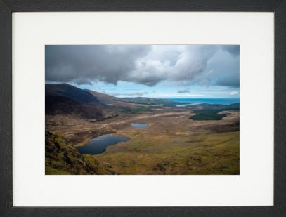 Brandon Bay, view from the Connor pass, Co. Kerry