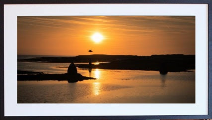 Sunset over Inishmore, Co. Donegal