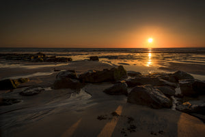 Sunset over Fanore Beach, Co. Clare, Ireland