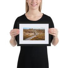 Load image into Gallery viewer, Stone Circle - Matte Paper Framed Poster With Mat