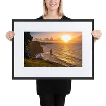 Load image into Gallery viewer, Cliffs of Moher - Matte Paper Framed Poster With Mat