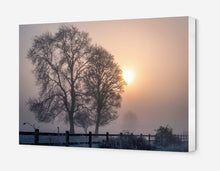 Load image into Gallery viewer, Winter Sunrise  - Canvas Print