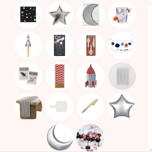 Load image into Gallery viewer, Outer Space Party Box