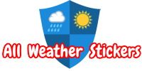 All Weather Stickers