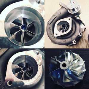 RB26 - GT2860 (836026-5005) Billet Compressor Wheel