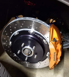 Supertec Racing Nissan Skyline R35 Brembo Brake Conversion Kit - Full Kit R32 GTR R33 GTR R34 GTR R35 GTR