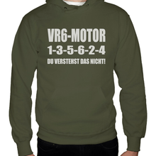 Laden Sie das Bild in den Galerie-Viewer, VR6 1-3-5-6-2-4 Hoodie