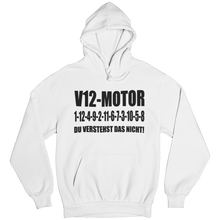Laden Sie das Bild in den Galerie-Viewer, V12 1-12-4-9-2-11-6-7-3-10-5-8 Hoodie