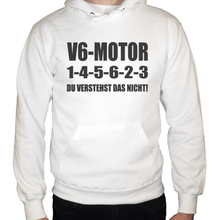 Laden Sie das Bild in den Galerie-Viewer, V6 1-4-5-6-2-3 Hoodie