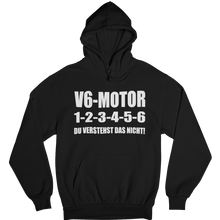 Laden Sie das Bild in den Galerie-Viewer, V6 1-2-3-4-5-6 Hoodie