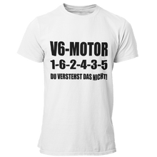 Laden Sie das Bild in den Galerie-Viewer, V6 1-6-2-4-3-5 T-Shirt