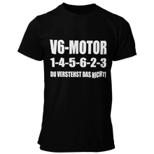 Laden Sie das Bild in den Galerie-Viewer, V6 1-4-5-6-2-3 T-Shirt