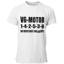 Laden Sie das Bild in den Galerie-Viewer, V6 1-4-2-5-3-6 T-Shirt