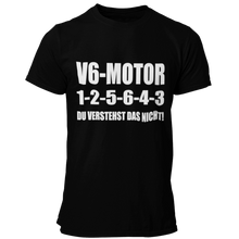 Laden Sie das Bild in den Galerie-Viewer, V6 1-2-5-6-4-3 T-Shirt