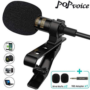 Microphone - Professional Grade Studio Quality Clip-On Mic-BUY 2 FREE SHIPPING