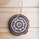 Mandala Ornaments in Black