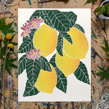 "Load image into Gallery viewer, Lemon Blossom | 11x14"" Print"